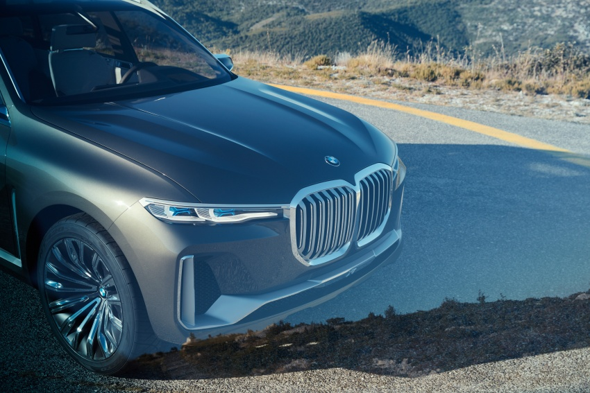 BMW Concept X7 iPerformance previews flagship SUV – production plug-in hybrid X7 to debut in 2018 Image #707742