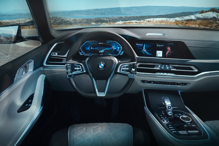 BMW Concept X7 iPerformance previews flagship SUV – production plug-in hybrid X7 to debut in 2018 Image #707757