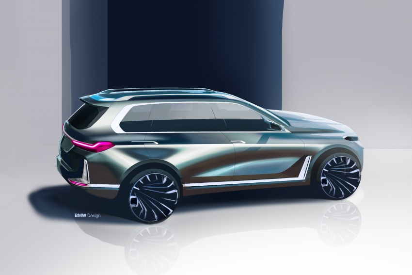BMW Concept X7 iPerformance previews flagship SUV – production plug-in hybrid X7 to debut in 2018 Image #707763