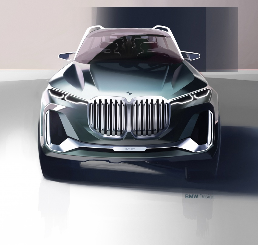 BMW Concept X7 iPerformance previews flagship SUV – production plug-in hybrid X7 to debut in 2018 Image #707773