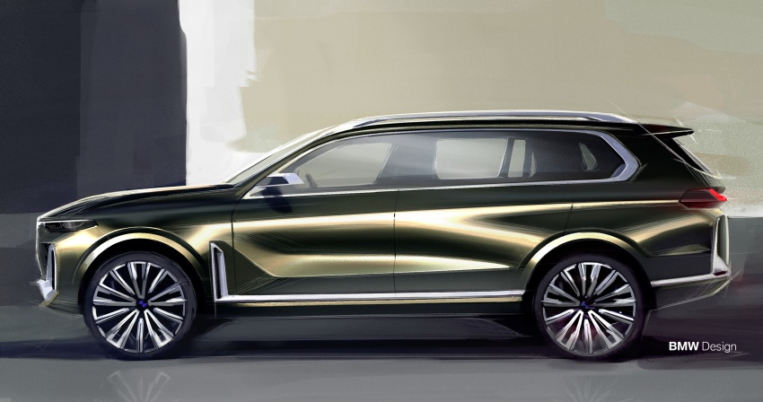 BMW Concept X7 iPerformance previews flagship SUV – production plug-in hybrid X7 to debut in 2018 Image #707774