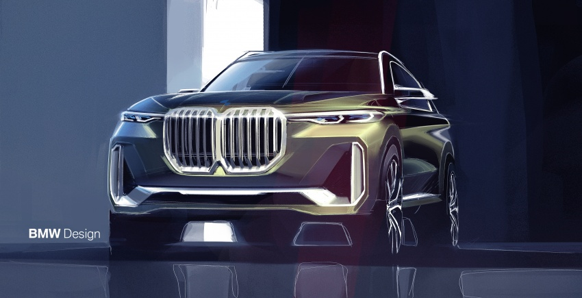 BMW Concept X7 iPerformance previews flagship SUV – production plug-in hybrid X7 to debut in 2018 Image #707775