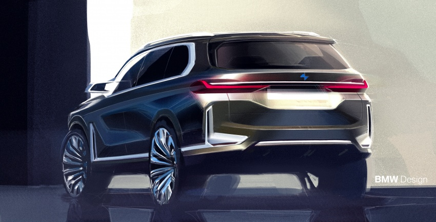 BMW Concept X7 iPerformance previews flagship SUV – production plug-in hybrid X7 to debut in 2018 Image #707776