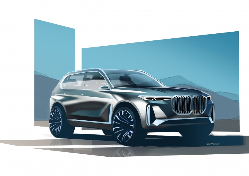 BMW Concept X7 iPerformance previews flagship SUV – production plug-in hybrid X7 to debut in 2018 Image #707765