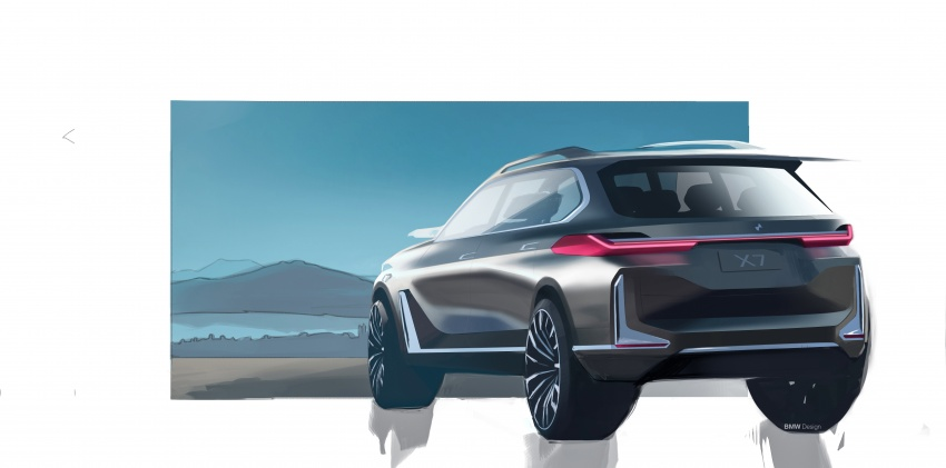 BMW Concept X7 iPerformance previews flagship SUV – production plug-in hybrid X7 to debut in 2018 Image #707766