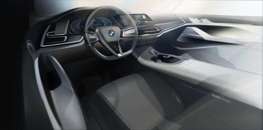 BMW Concept X7 iPerformance previews flagship SUV – production plug-in hybrid X7 to debut in 2018 Image #707768