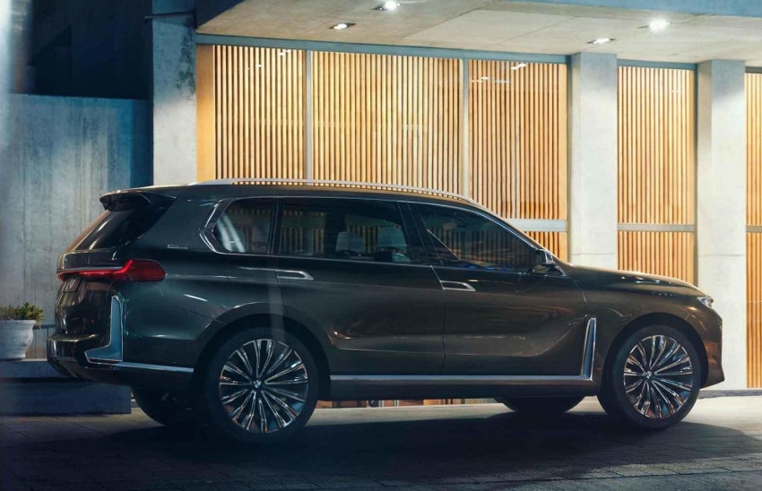 BMW X7 Concept – leaked images of 7-seat PHEV SUV Image #706696