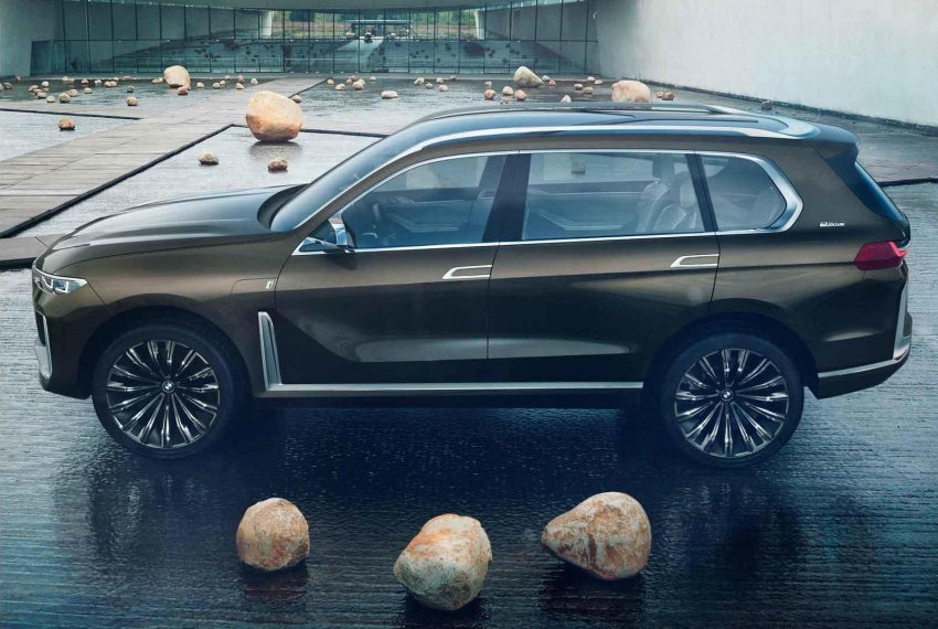 BMW X7 Concept – leaked images of 7-seat PHEV SUV Image #706697