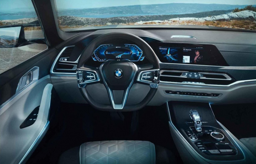 BMW X7 Concept – leaked images of 7-seat PHEV SUV Image #706699