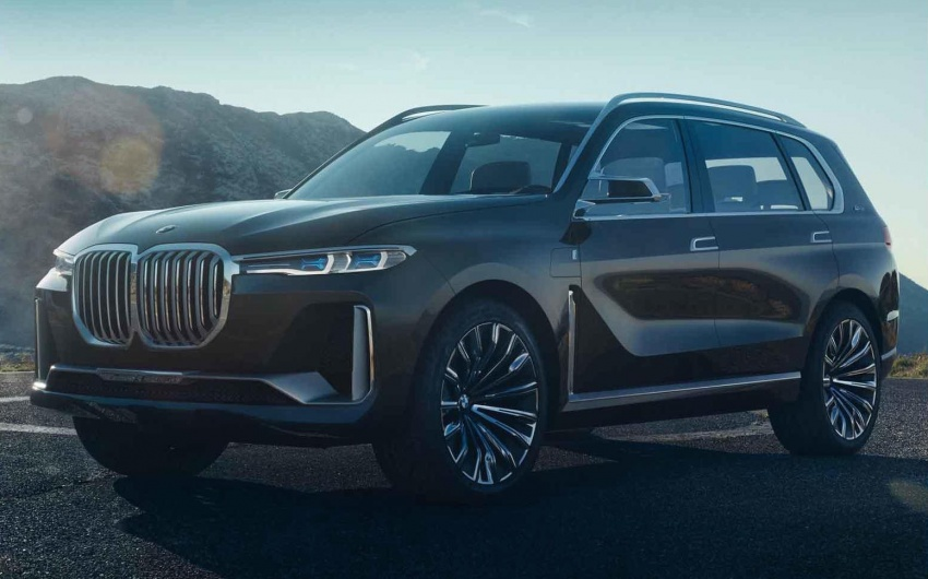 BMW X7 Concept – leaked images of 7-seat PHEV SUV Image #706700