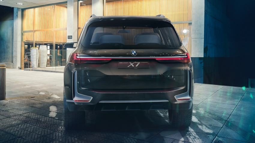 BMW Concept X7 iPerformance – SUV yang terletak atas daripada X5, versi produksi keluar pada 2018 Image #708029