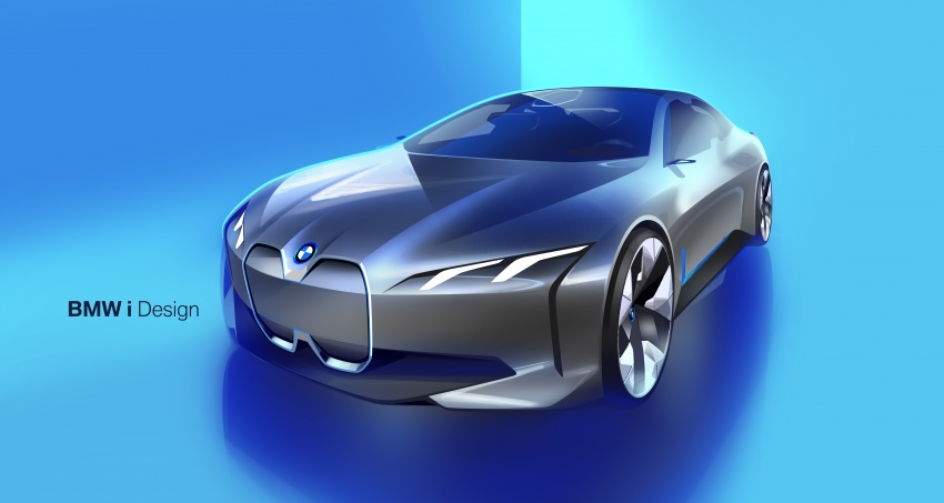 BMW i Vision Dynamics makes debut in Frankfurt – previews new model positioned between i3 and i8 Image #709120