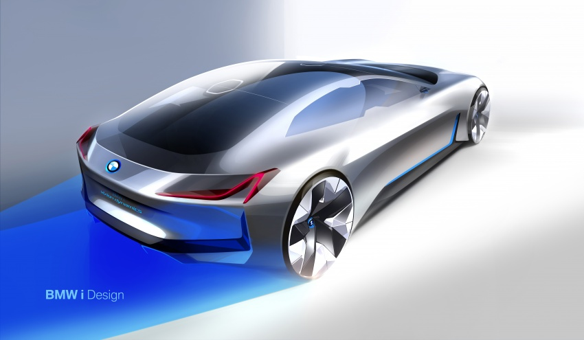 BMW i Vision Dynamics makes debut in Frankfurt – previews new model positioned between i3 and i8 Image #709121
