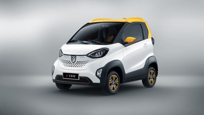 Baojun E100 – GM's tiny RM23k, 155 km EV for China Image #715567
