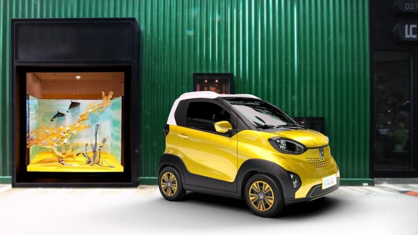 Baojun E100 – GM's tiny RM23k, 155 km EV for China Image #715578