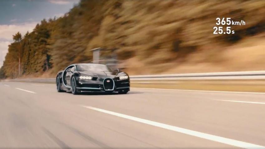 VIDEO: Bugatti Chiron – 0-400-0 km/h in 42 seconds! Image #708270