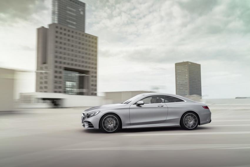 Mercedes-Benz S-Class Coupe C217 dan S-Class Cabriolet A217 facelift didedah, termasuk versi AMG Image #705558