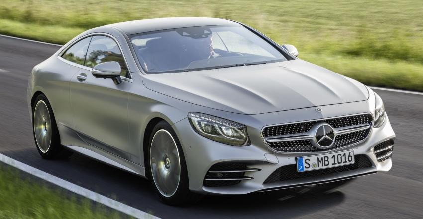 Mercedes-Benz S-Class Coupe C217 dan S-Class Cabriolet A217 facelift didedah, termasuk versi AMG Image #705570
