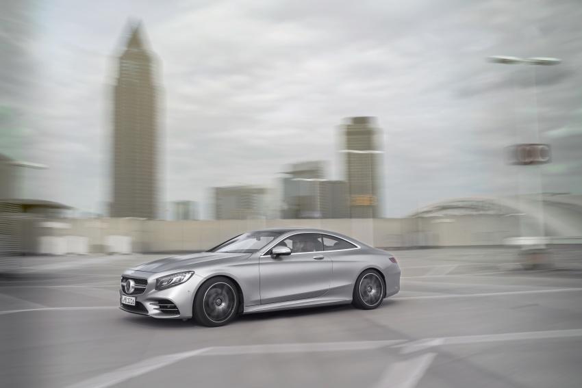 Mercedes-Benz S-Class Coupe C217 dan S-Class Cabriolet A217 facelift didedah, termasuk versi AMG Image #705562