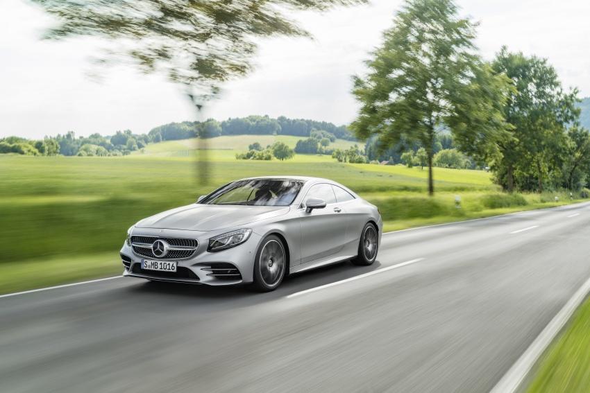 Mercedes-Benz S-Class Coupe C217 dan S-Class Cabriolet A217 facelift didedah, termasuk versi AMG Image #705563