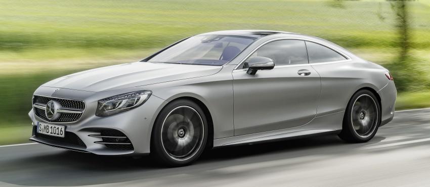 Mercedes-Benz S-Class Coupe C217 dan S-Class Cabriolet A217 facelift didedah, termasuk versi AMG Image #705564