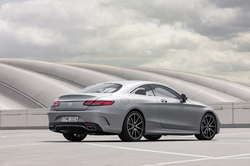 Mercedes-Benz S-Class Coupe C217 dan S-Class Cabriolet A217 facelift didedah, termasuk versi AMG Image #705567