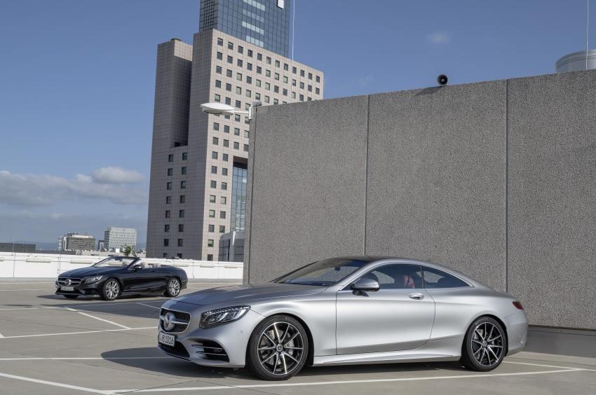 Mercedes-Benz S-Class Coupe C217 dan S-Class Cabriolet A217 facelift didedah, termasuk versi AMG Image #705569
