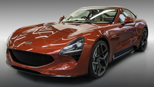 tvr griffith unveiled with 5 0 litre v8 manual gearbox. Black Bedroom Furniture Sets. Home Design Ideas