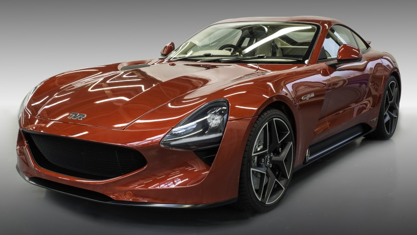 TVR Griffith unveiled with 5.0 litre V8, manual gearbox Image #708122