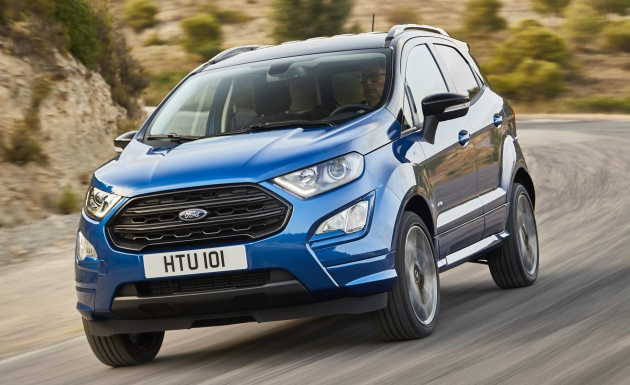 This Is Yet Another Refreshed Ford Ecosport Just Revealed By The Blue Oval This Is The European Version Of The Latest Revision That Was First Unveiled For