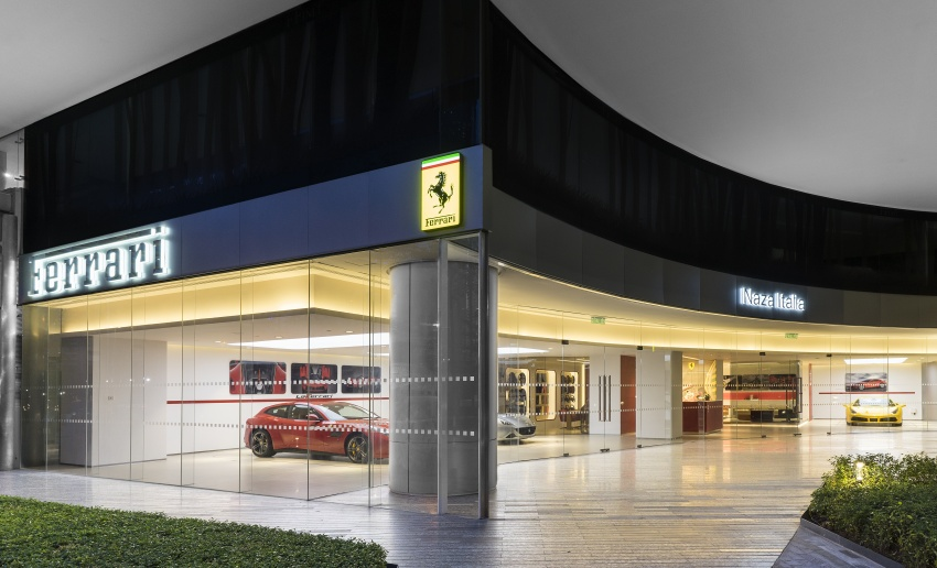 Naza Italia opens its second Ferrari showroom in KL Image #717279