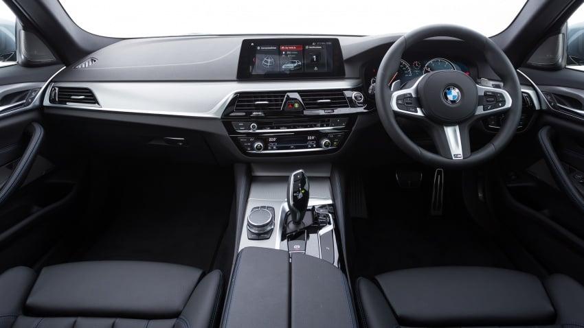 G30 BMW 5 Series CKD on sale: 530i M Sport, RM389k Image #713791