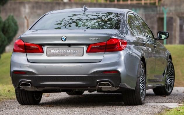 G30 BMW 5 Series CKD on sale: 530i M Sport, RM389k