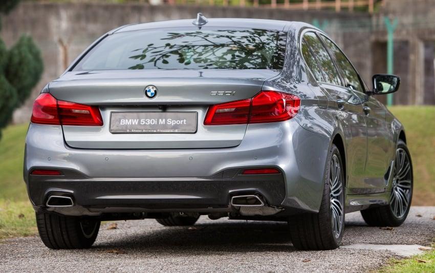G30 BMW 5 Series CKD on sale: 530i M Sport, RM389k Image #713803