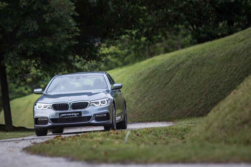 G30 BMW 5 Series CKD on sale: 530i M Sport, RM389k Image #713804