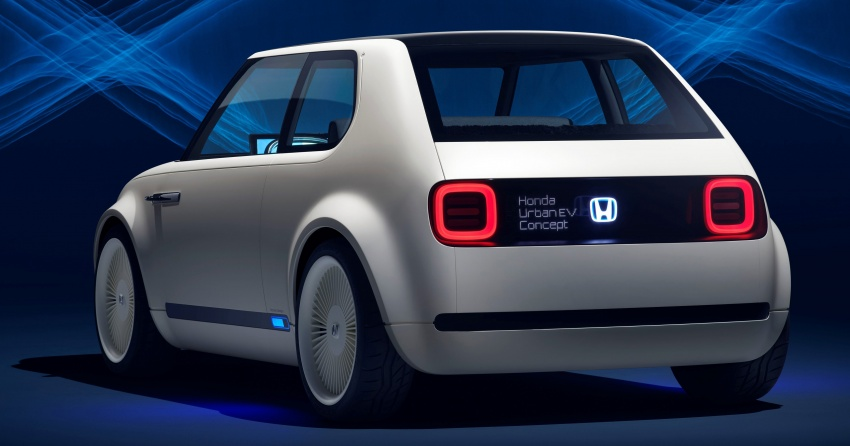 Honda Urban EV Concept revealed with retro charm, electric tech – production version to arrive in 2019 Image #709068