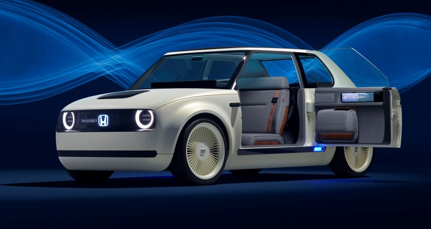 Honda Urban EV Concept revealed with retro charm, electric tech – production version to arrive in 2019 Image #709053