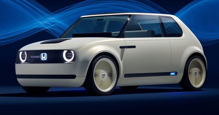 Honda Urban EV Concept revealed with retro charm, electric tech – production version to arrive in 2019 Image #709055