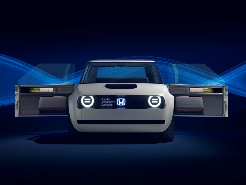 Honda Urban EV Concept revealed with retro charm, electric tech – production version to arrive in 2019 Image #709057
