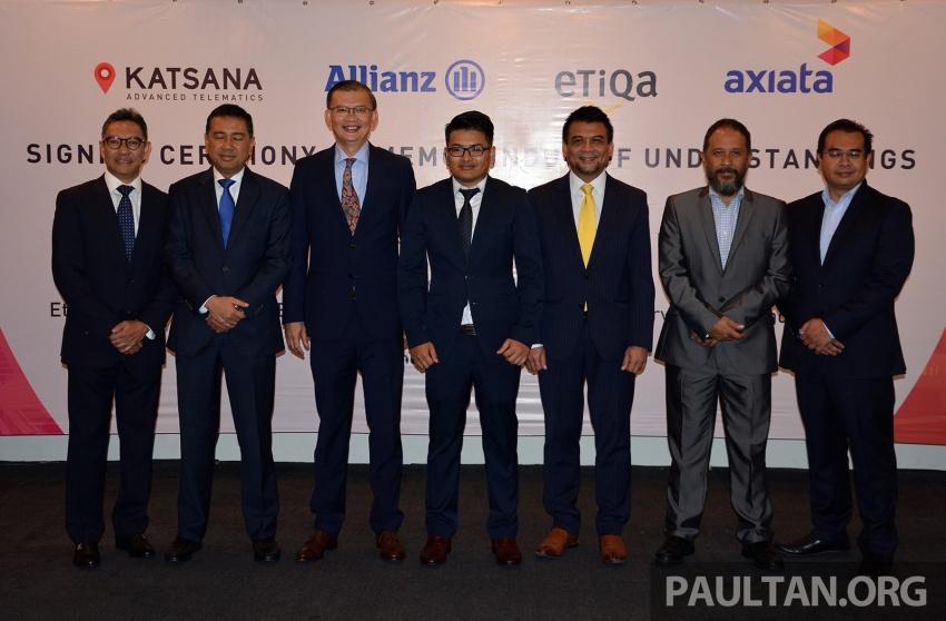 Katsana signs MoU with Allianz, Etiqa and Axiata to develop usage-based motor insurance, DriveMark app Image #705625