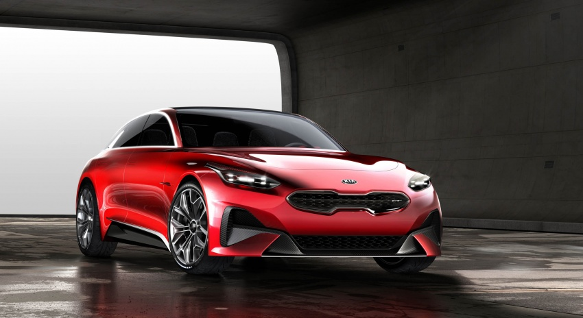 Kia Proceed Concept makes official debut in Frankfurt Image #709204