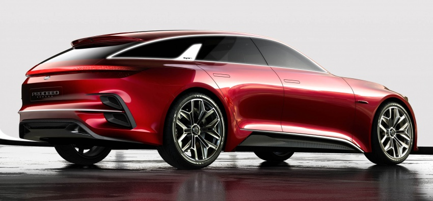 Kia Proceed Concept makes official debut in Frankfurt Image #709214
