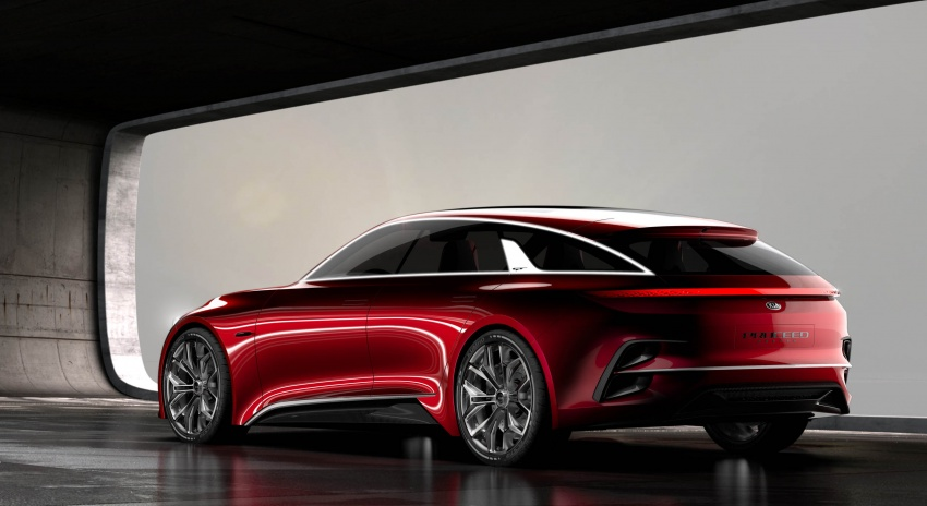 Kia Proceed Concept makes official debut in Frankfurt Image #709215