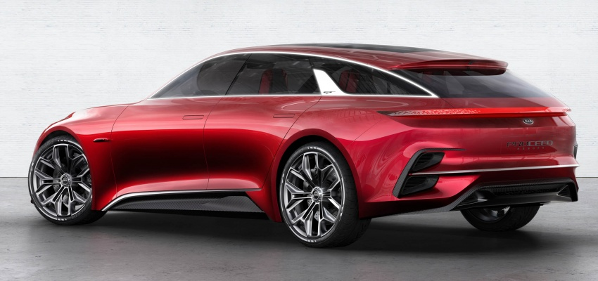Kia Proceed Concept makes official debut in Frankfurt Image #709210