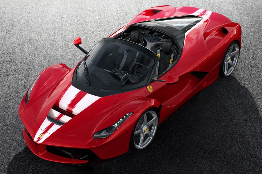 Ferrari to auction off 210th LaFerrari Aperta for charity Image #705823
