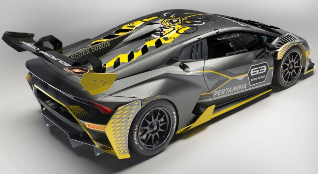 2018 lamborghini huracan super trofeo evo revealed. Black Bedroom Furniture Sets. Home Design Ideas