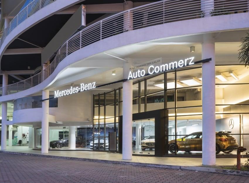 Mercedes-Benz M'sia lantik Auto Commerz sebagai pengedar baharu – bilik pameran sementara di KL Image #707243