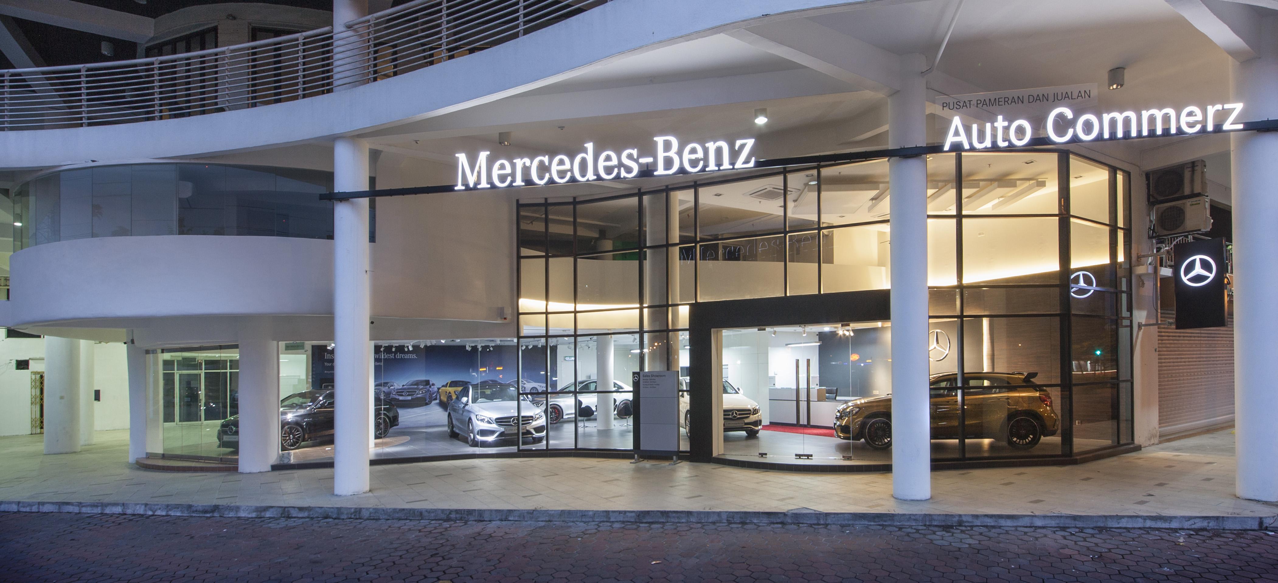 dealer motors mercedes to angeles welcome la los in ca downtown benz