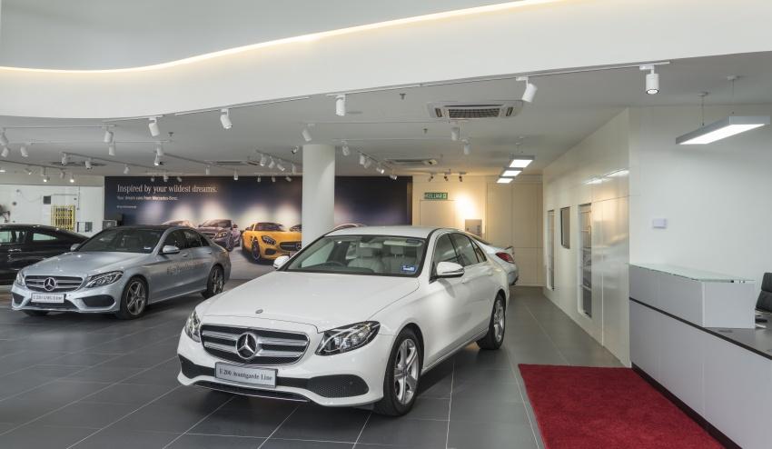 Mercedes-Benz M'sia lantik Auto Commerz sebagai pengedar baharu – bilik pameran sementara di KL Image #707240