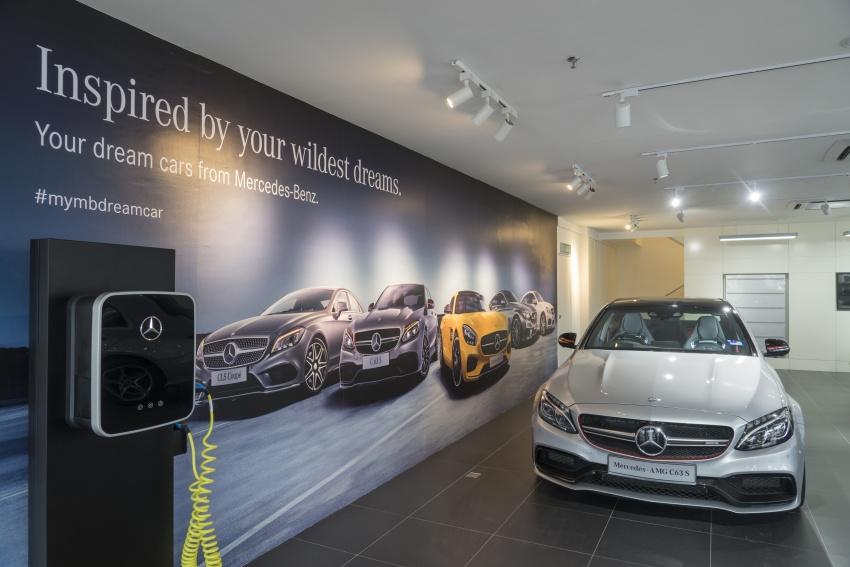 Mercedes-Benz M'sia lantik Auto Commerz sebagai pengedar baharu – bilik pameran sementara di KL Image #707237